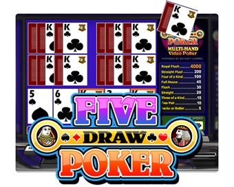 Spielen Five Draw Poker