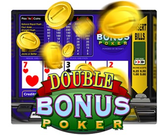 Spielen Double Bonus Poker