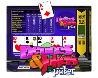 Играть Deuces And Jokers Poker