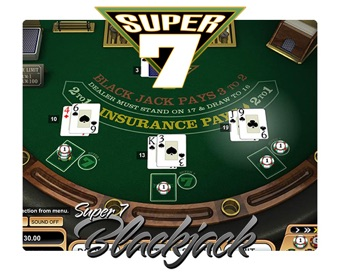 Spielen Super 7 Blackjack