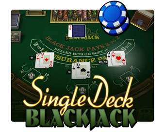Играть Single Deck Blackjack