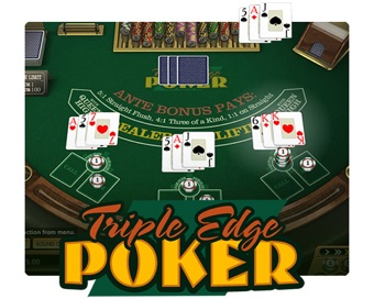 Spill Triple Edge Poker
