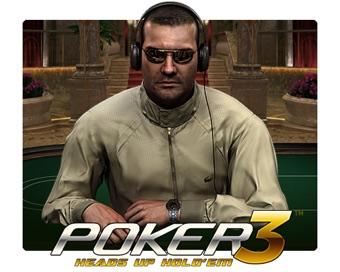 Играть Poker 3 Heads Up Hold'em