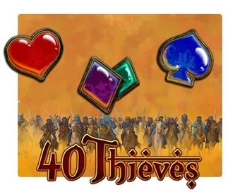 Spielen Forty Thieves