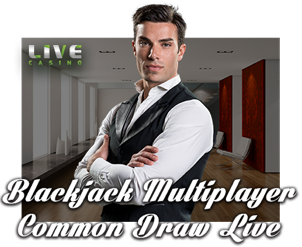 Играть Blackjack Multiplayer Common Draw Live
