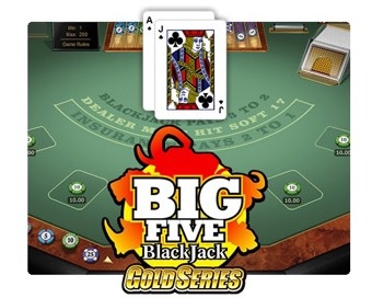 Spill Big 5 Blackjack Gold