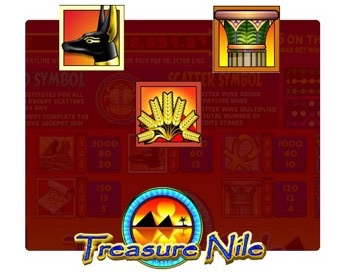 Spill Treasure Nile