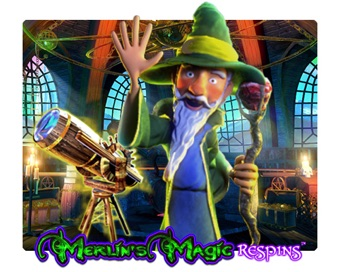 Spielen Merlin's Magic Respins