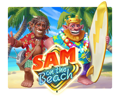Jugar Sam on the Beach