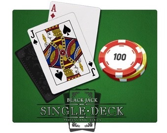 Spill Single Deck Blackjack Pro