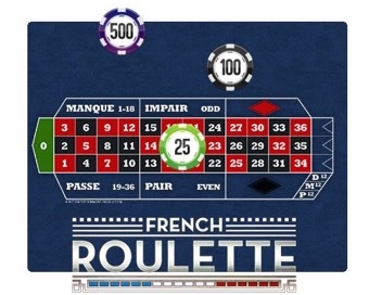 Spielen The French Roulette