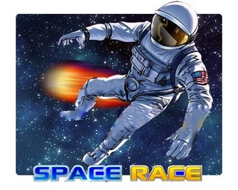 Spielen Space Race
